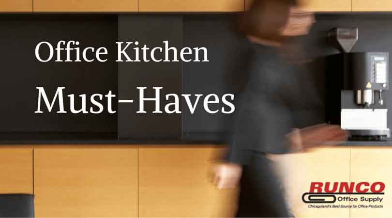5 Must Haves For Your Office Kitchen