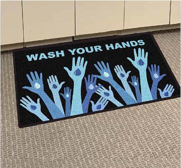 hand-clean-mat-design